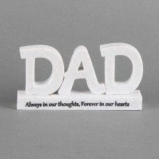 "3D grafmonument ""DAD"""